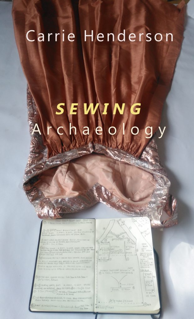 Carrie Henderson Sewing Archaeology Book Cover