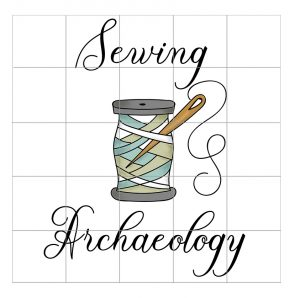 Sewing Archaeology Logo carriehenderson.,uk